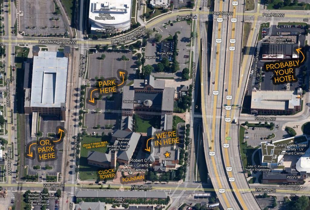 Where To Park at GVSU
