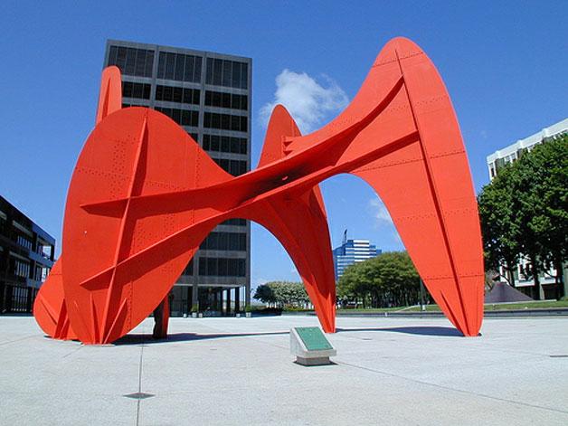 La Grande Vitesse – Calder Sculpture
